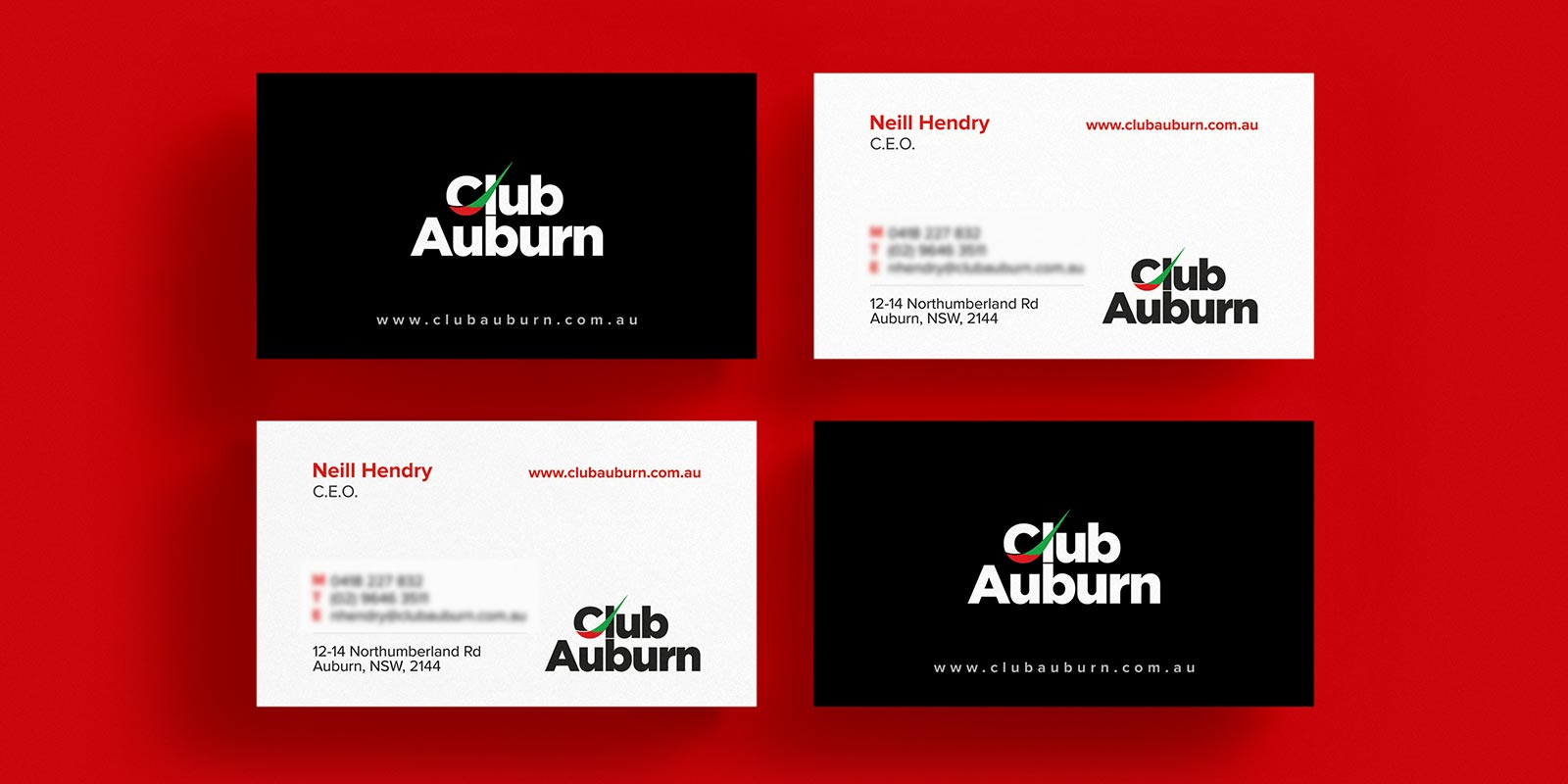 Corporate Branding for Club Auburn