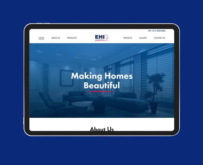 EHI Hawkesbury Web designing