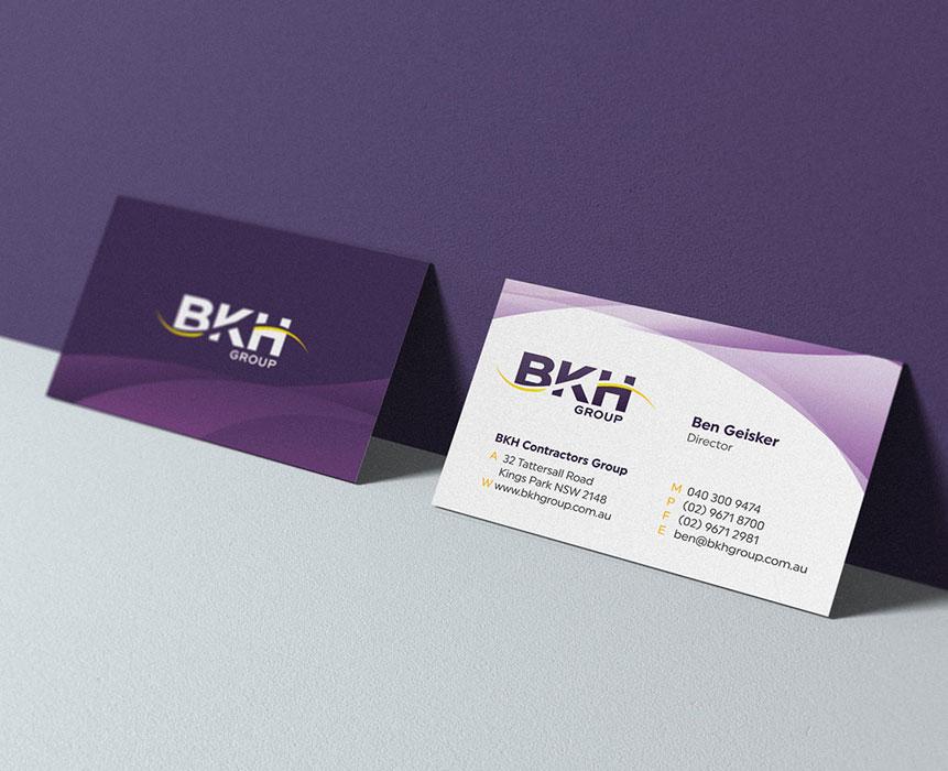Graphic design for bkh