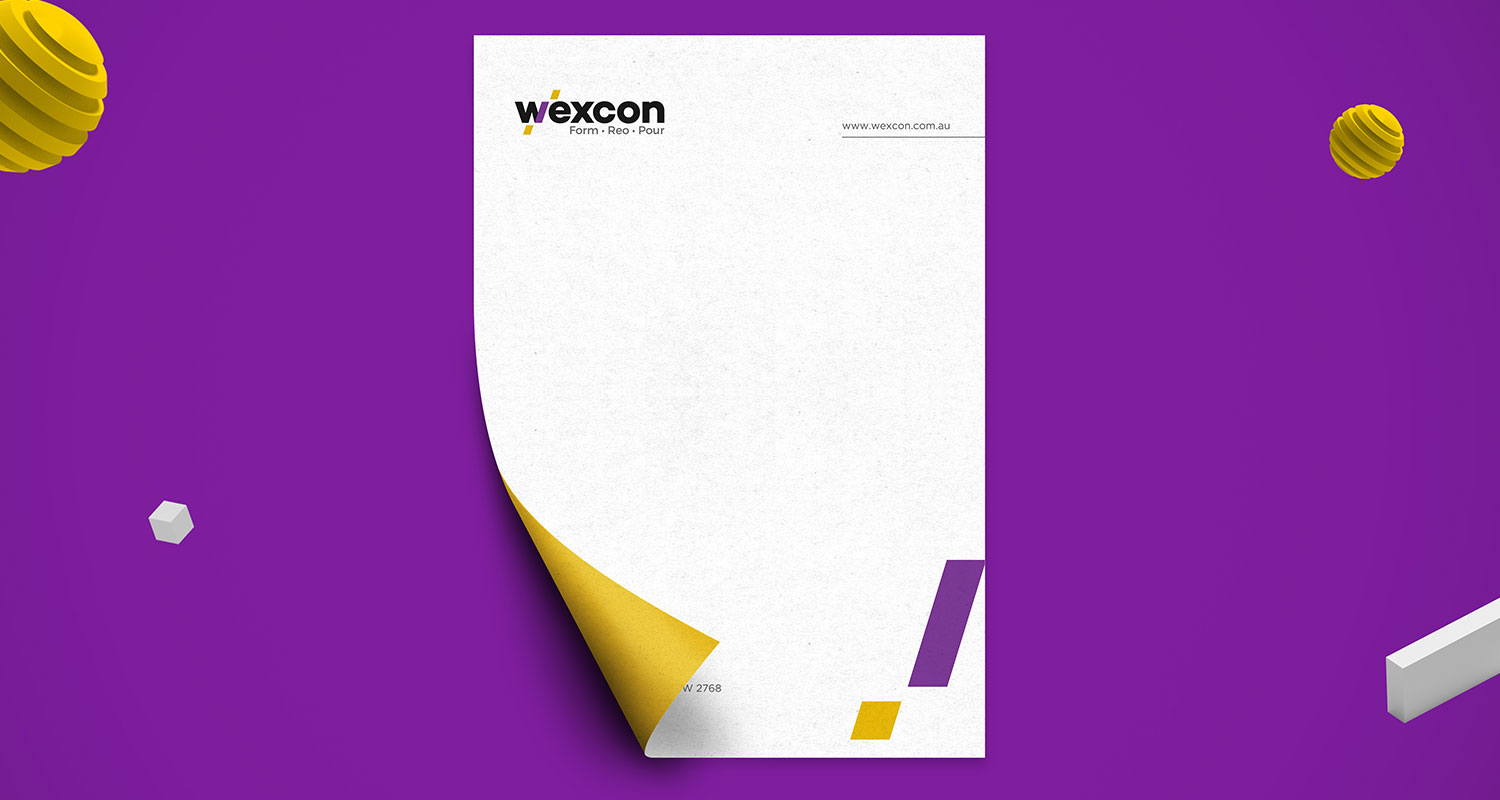 Graphic design for wexcon