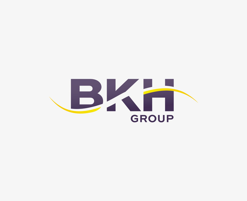 Logo design for bkh group