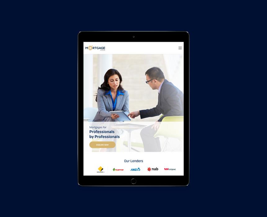 Mortgage Pros Website Development