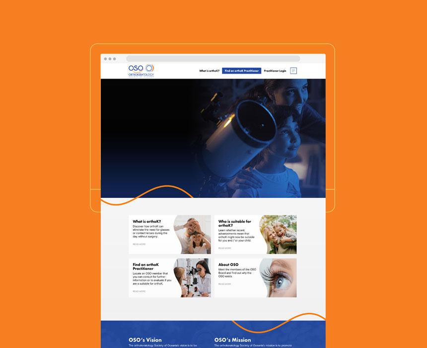 OSO Website Design Development