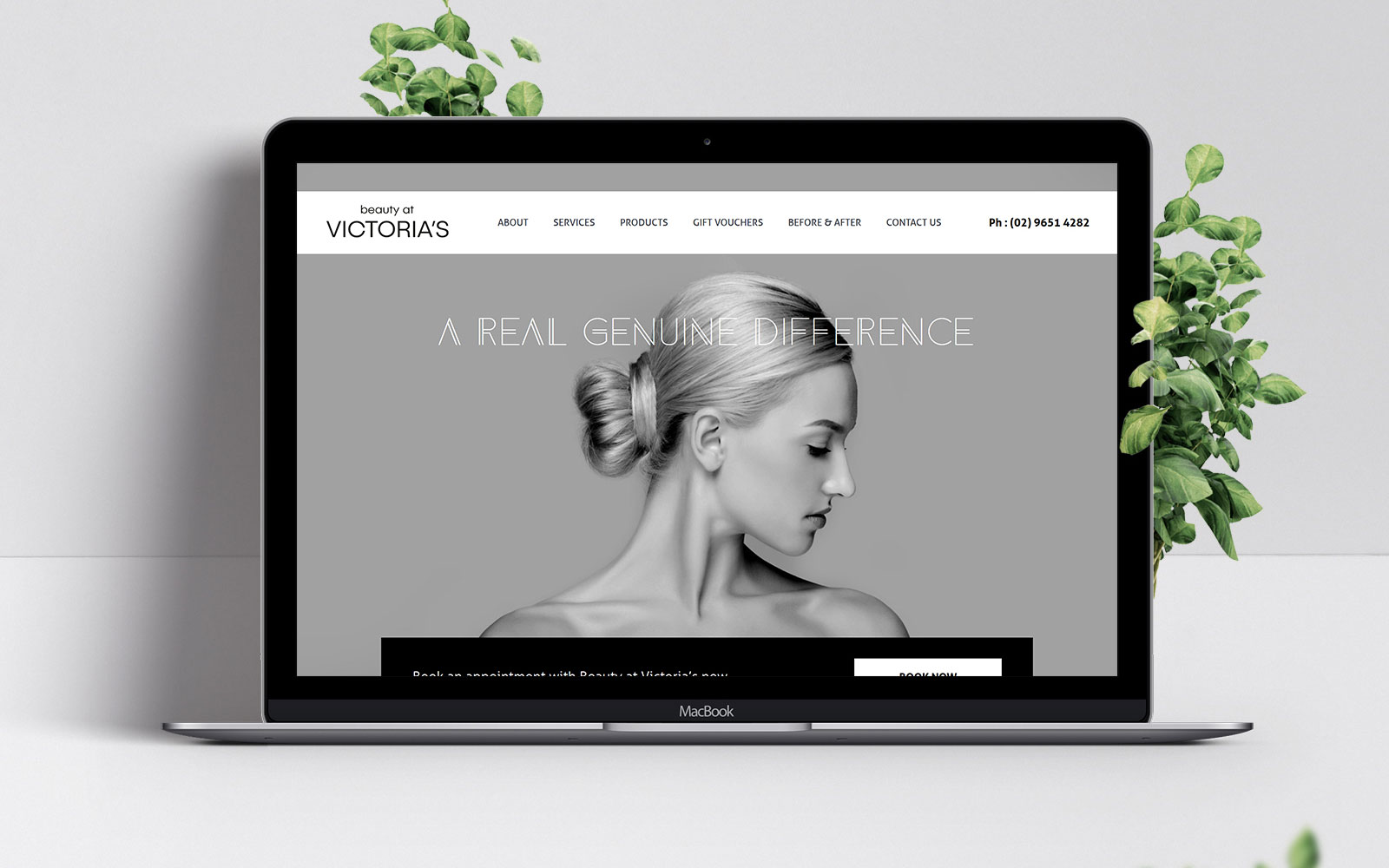 Web design for Dural clinic
