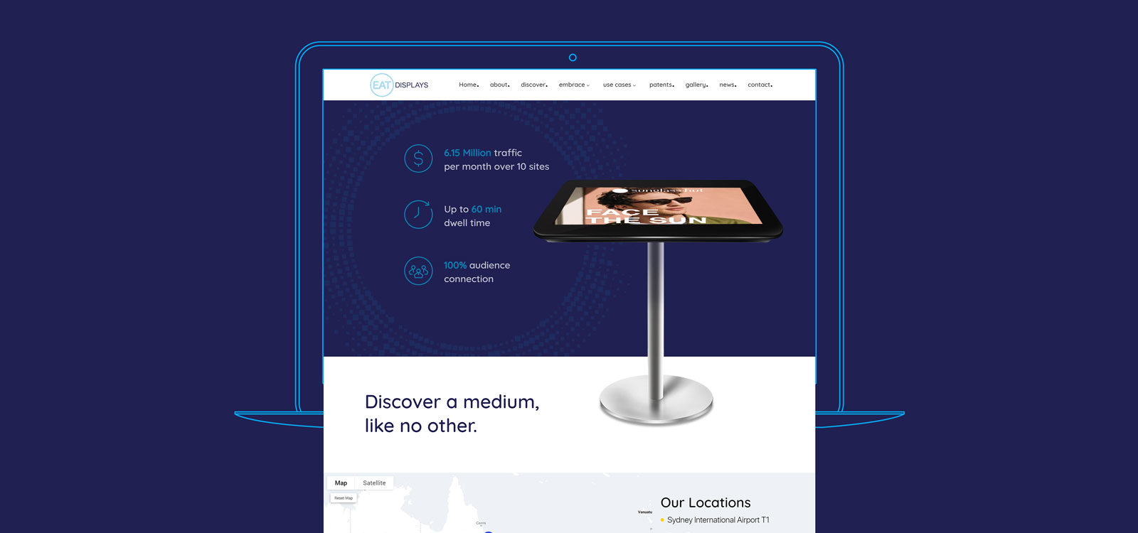 Web designing for EAT Displays