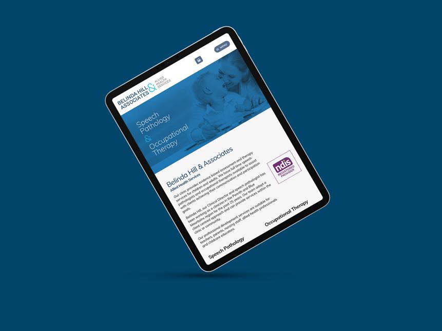 Website Design for Belinda Hill And Associates