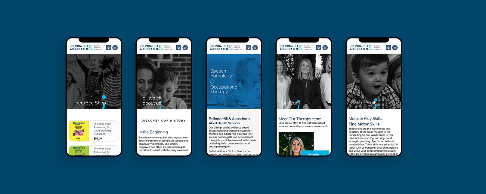 belinda hills Website Design