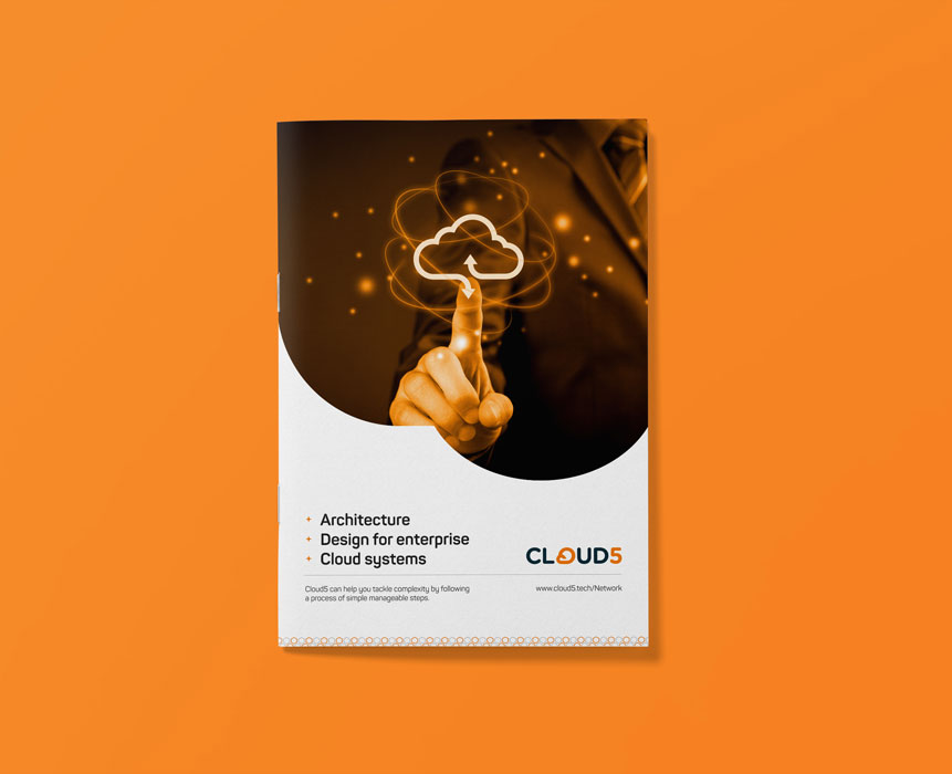 brochure design for Cloud5