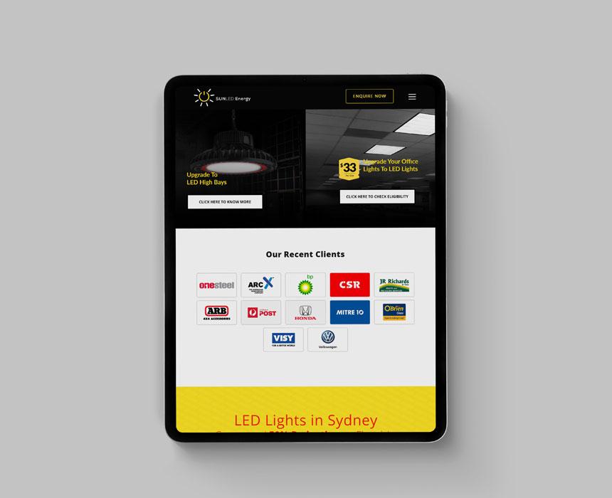 Web design portfolio Designpluz Sydney
