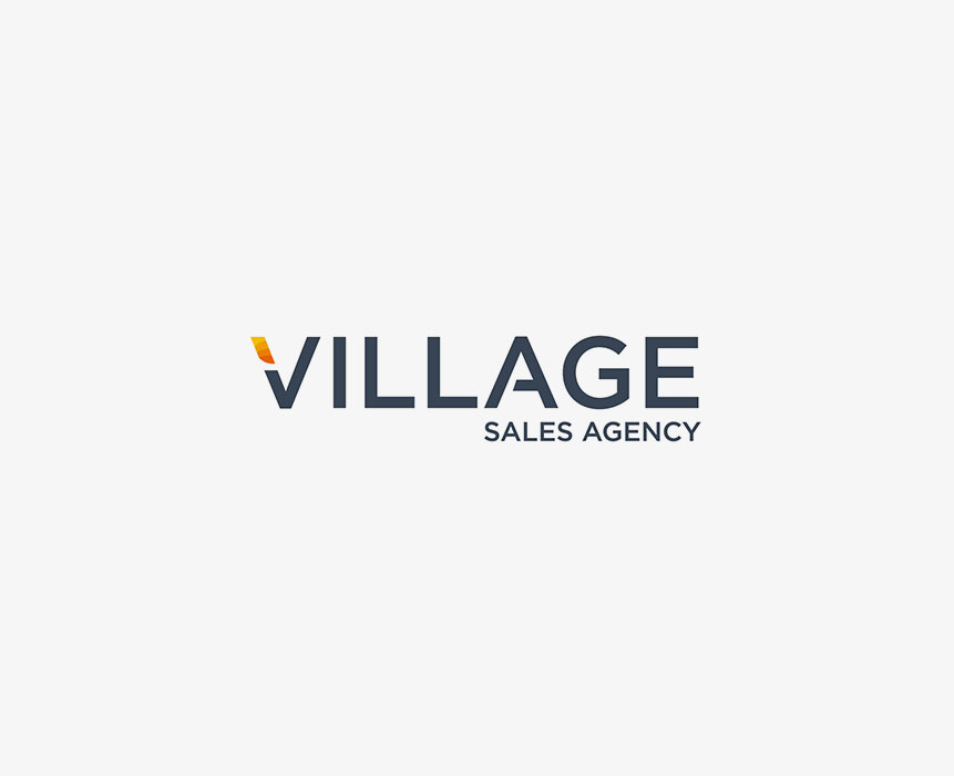 logo design for village sale agency