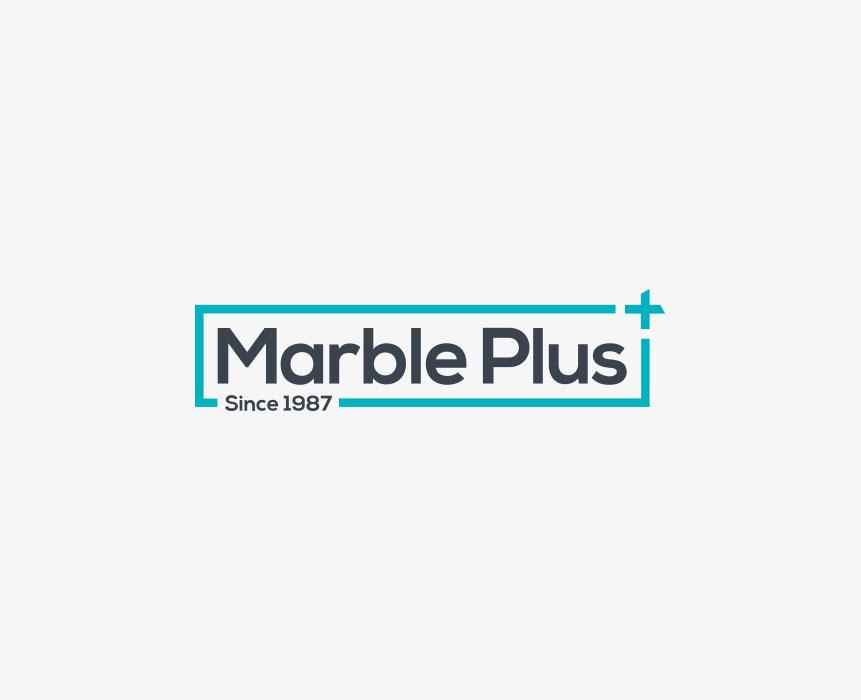 Marble Plus logo design