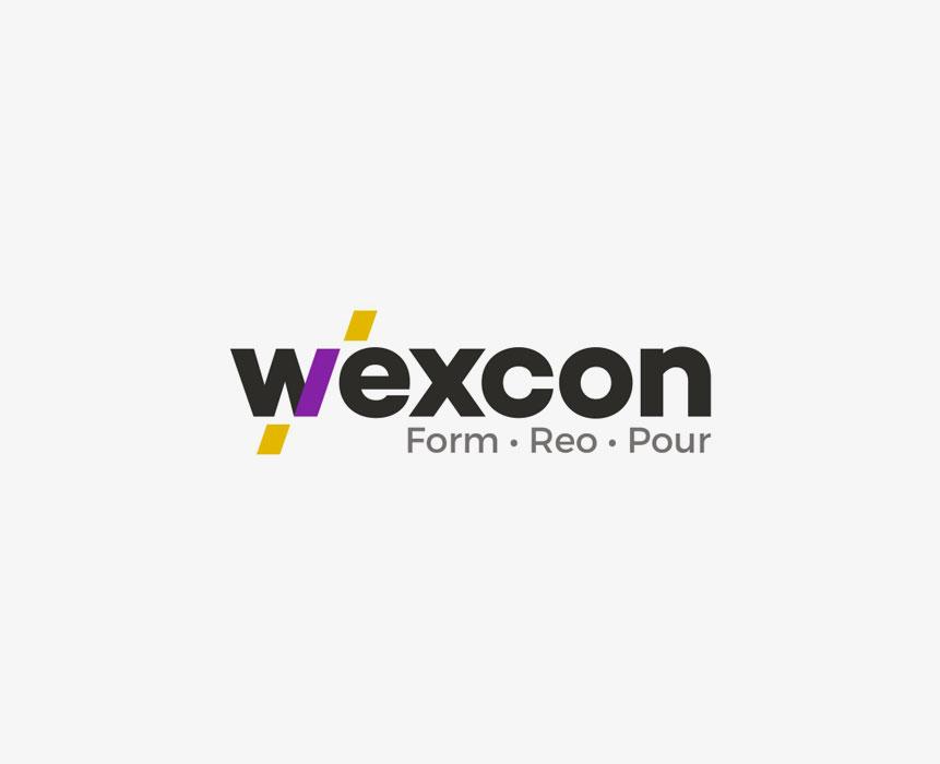 wexcon logo design