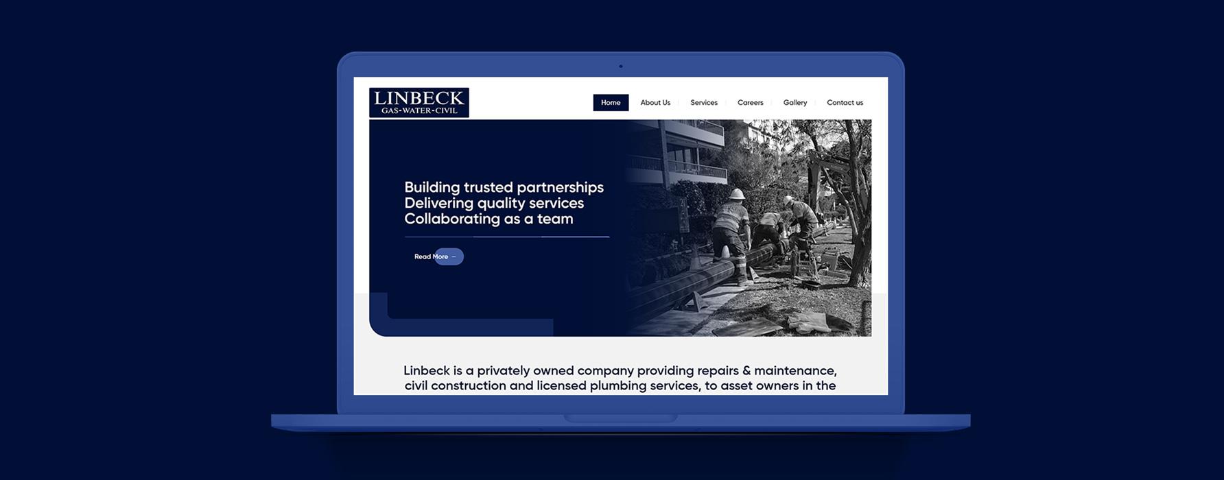 Linbeck Web design