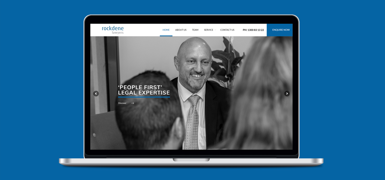 Rockdene Lawyers website development