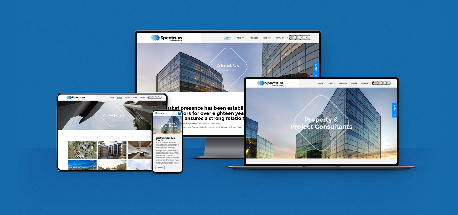 Webdesign for spectrum