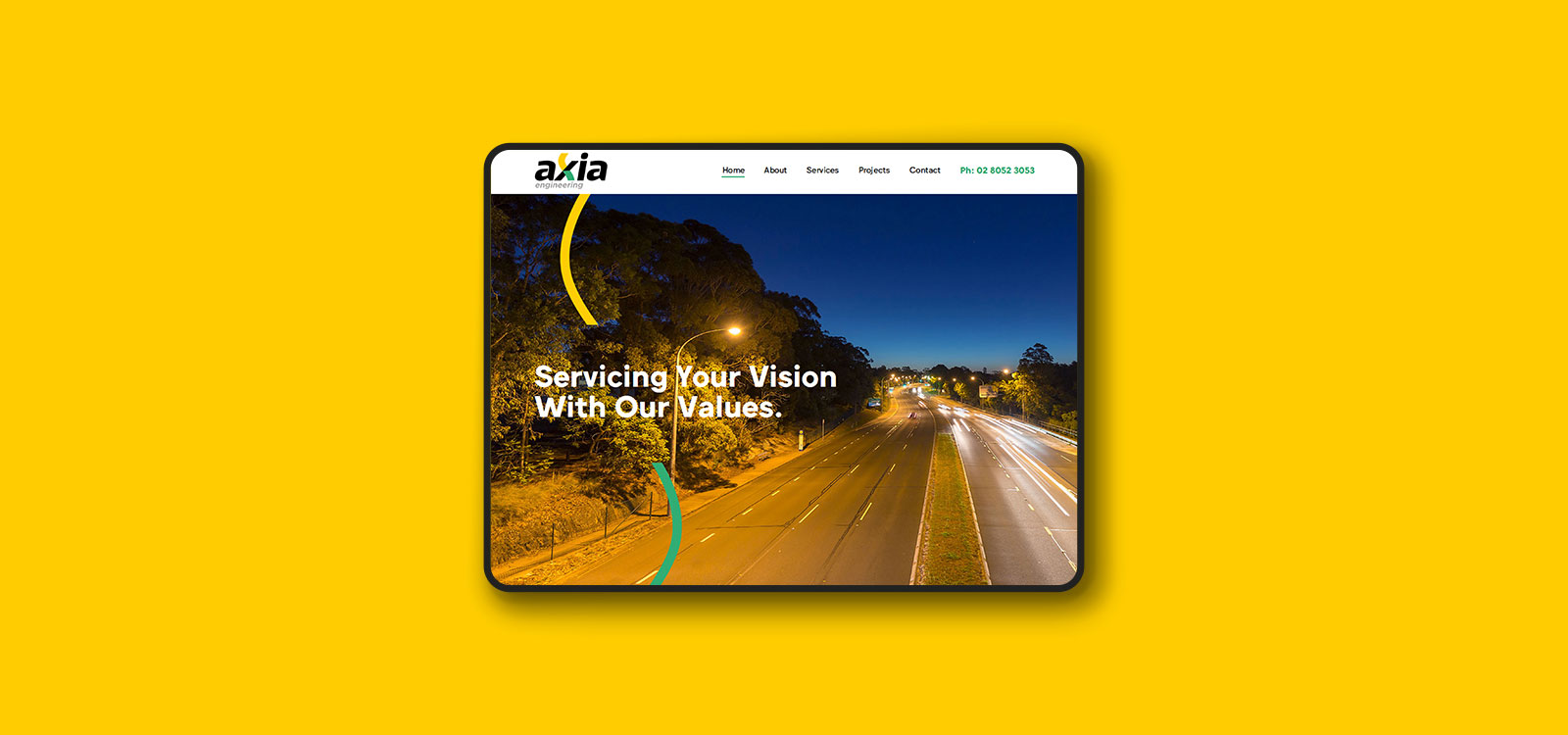 Webdesign For Axia