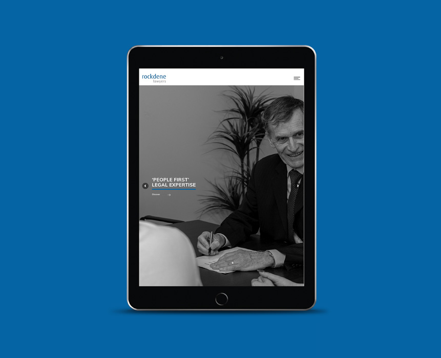 Website design for Rockdene Lawyers