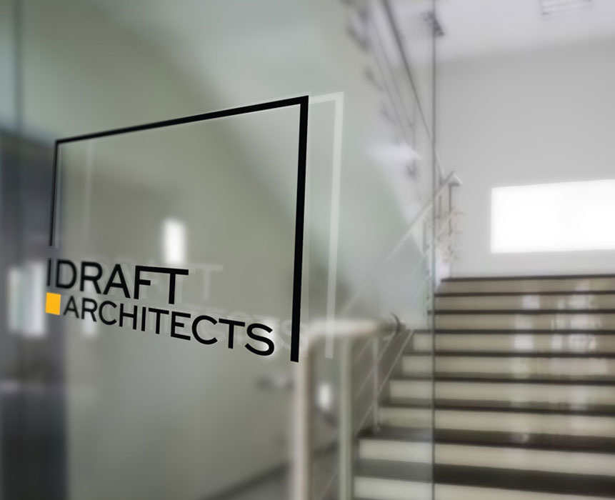 logo design for idraft architects