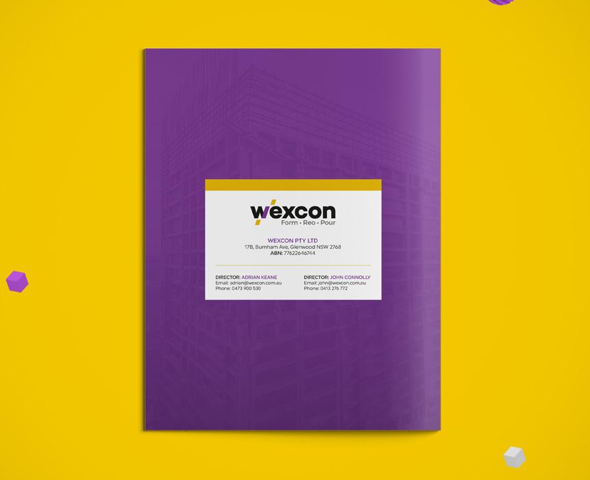 wexcon website design