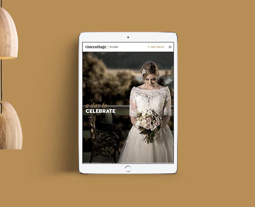 vine cottage web design
