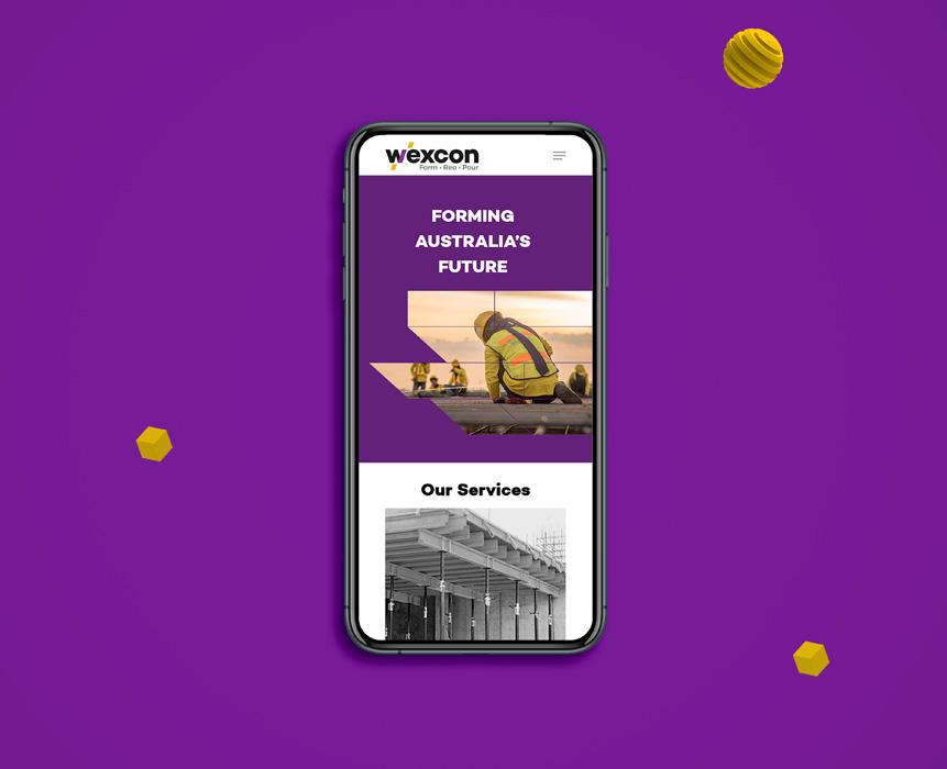 wexcon mobile design