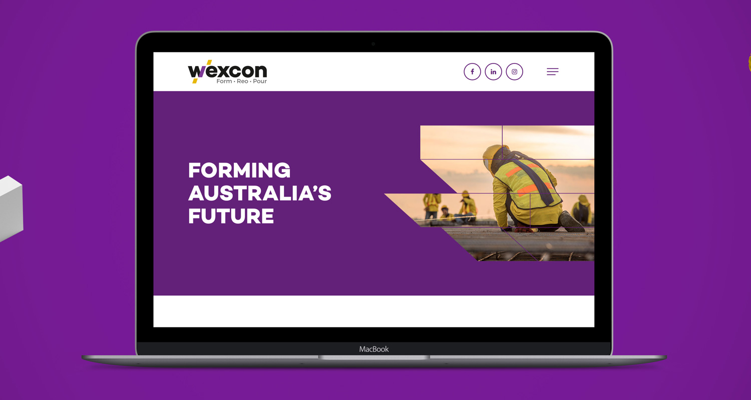 Web design for wexcon