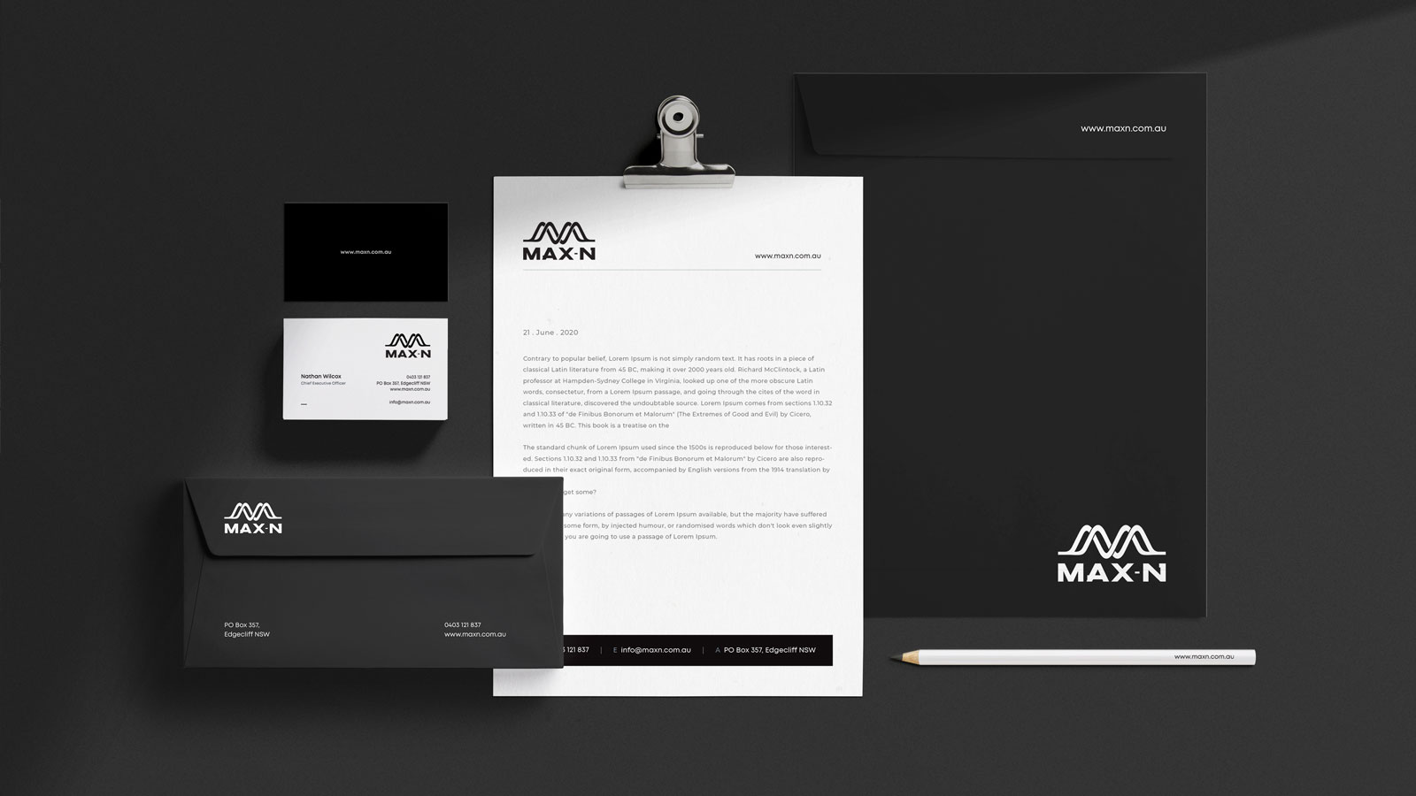 Stationery-design-for-max-n