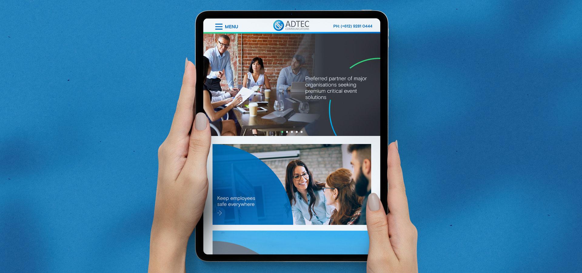 AdTec-Communications-Website-Design
