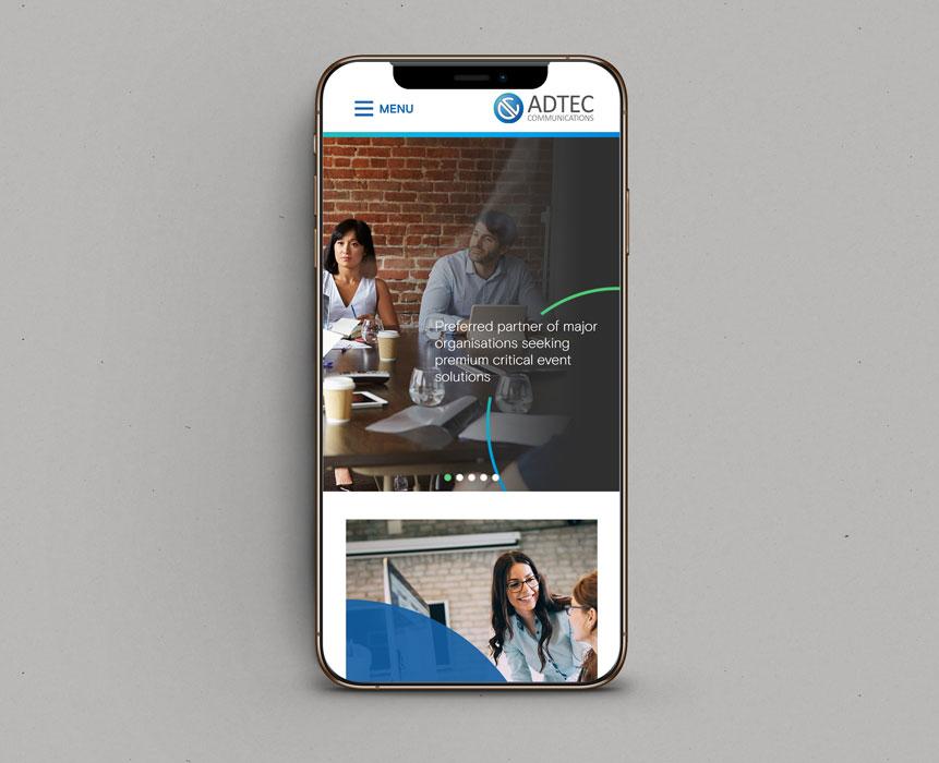 AdTec-Communications-Website-Development