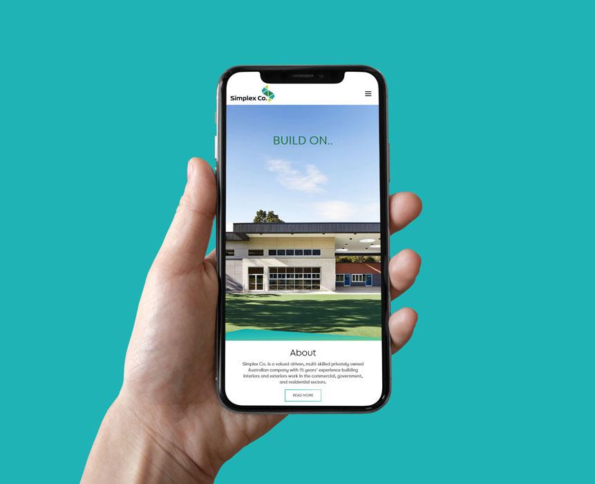 Website-design-for-Simplex-Co