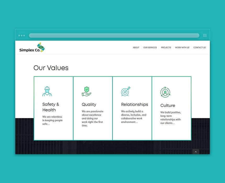 website-development-for-Simplex-Co