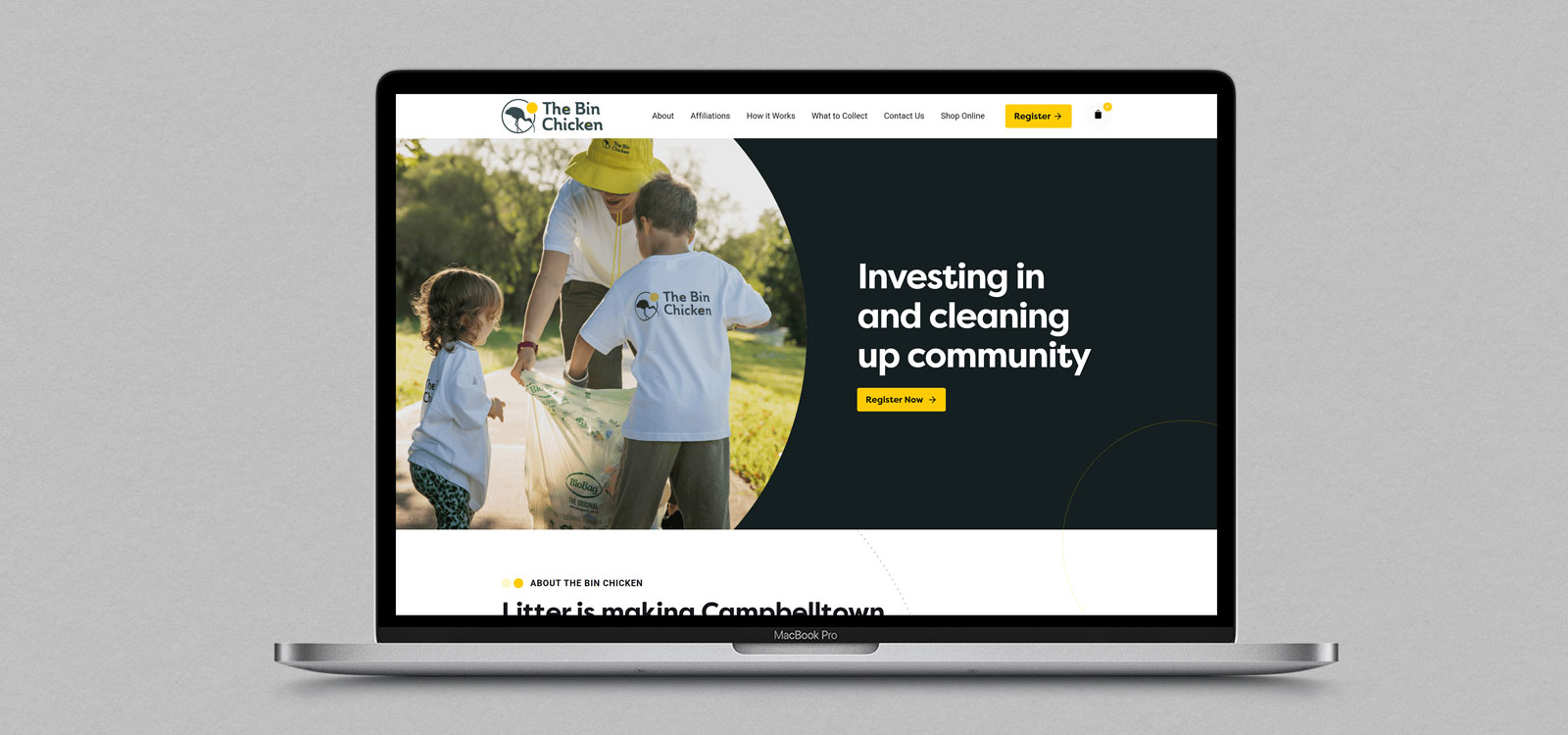 Recycling Company eCommerce Website